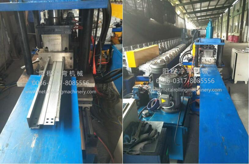 YC Steel Door Frame Roll Forming Machine