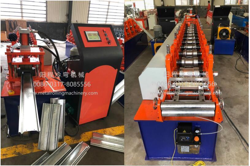 YC 122-16 Steel Roller Shutter Door Roll Forming Machine