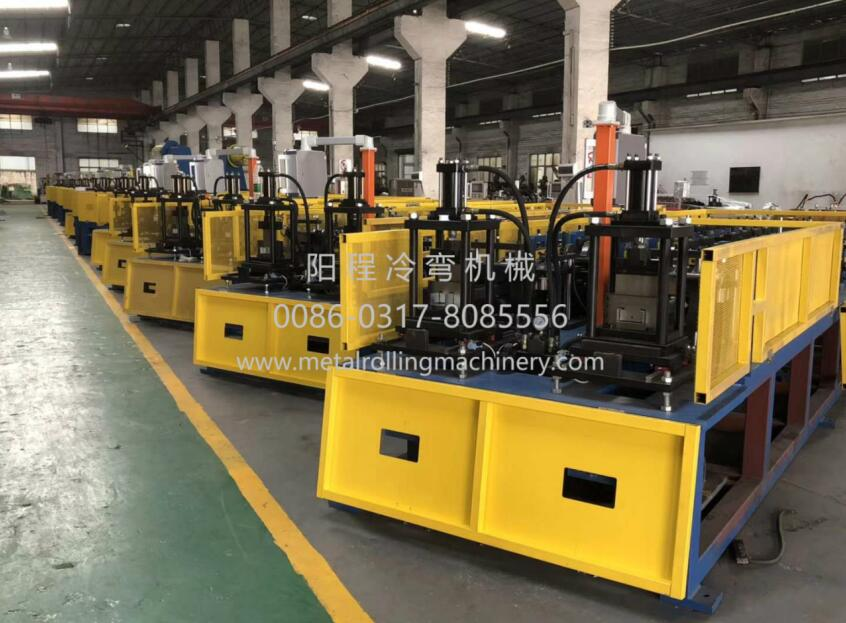 Ceiling CD60x27 and UD28x27 Profiles Double Line Roll Forming Machine