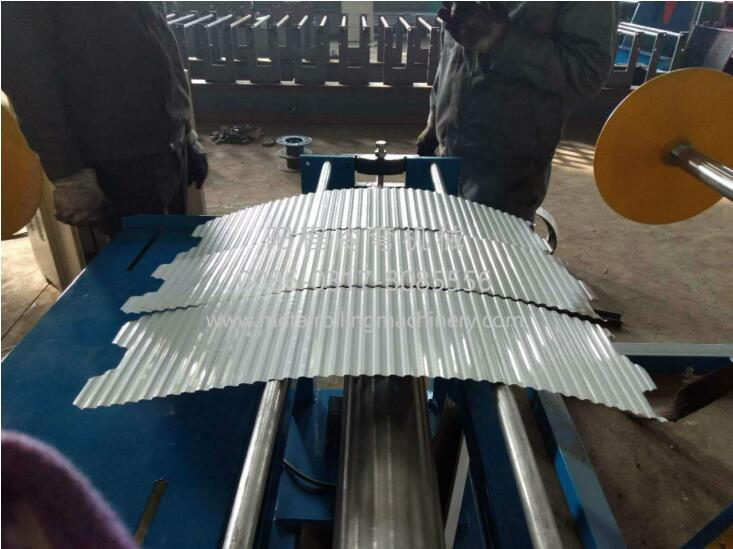 4M Barrel Corrugated Sheet Forming Machine