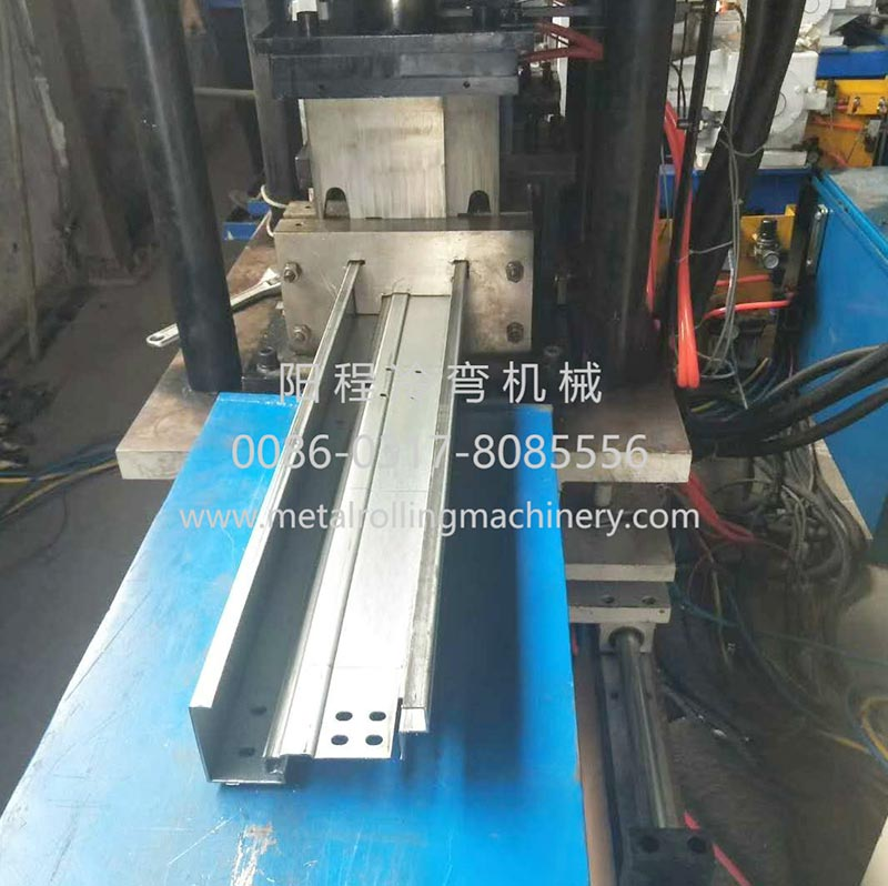 YC Steel Door Frame Roll Forming Machine