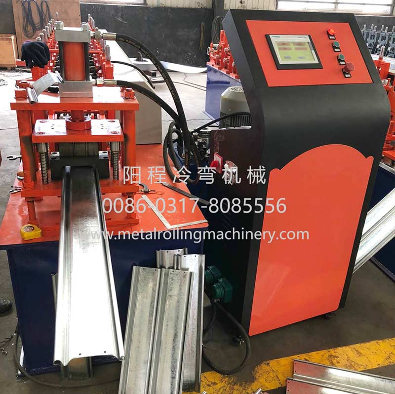 YC 122-16 Steel Roller Shutter Door Roll Forming Machine