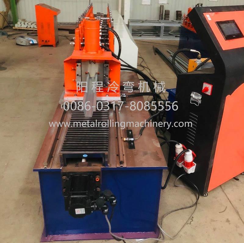 Metal Omega Profile Roll Forming Machine