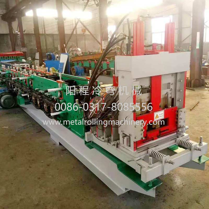 Automatically Interchangeable Steel C&Z Purlin Roll Forming Machine