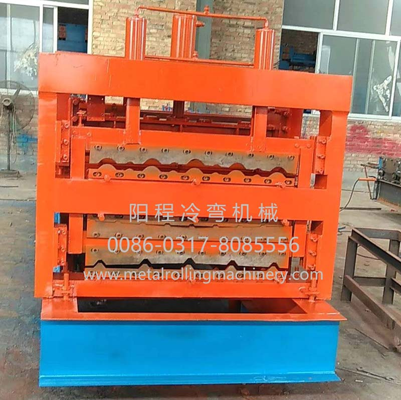 Roof Tile Double Layer Roll Forming Machine