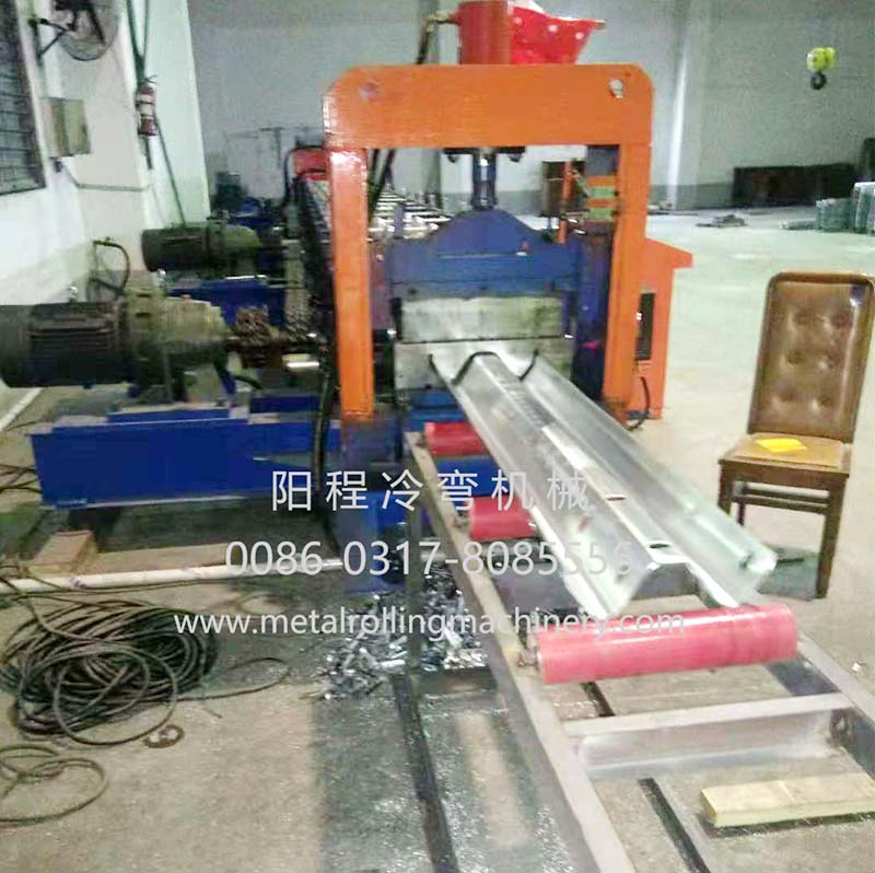 YC 2-Wave Highway Guardrail Roll Forming Machine