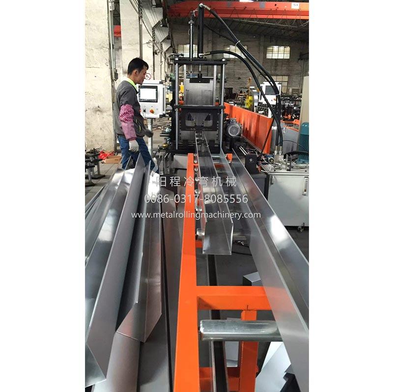 Steel Half Round Gutter Roll Forming Machine
