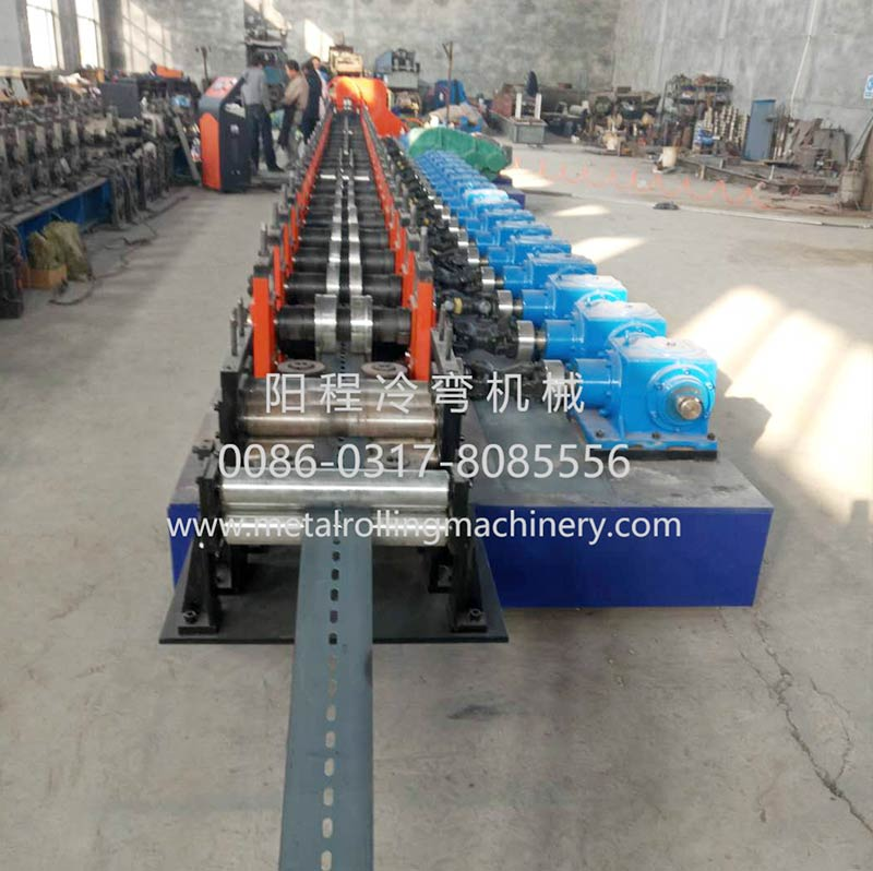 YC 41&21 Perforated Solar Bracket Roll Forming Machine