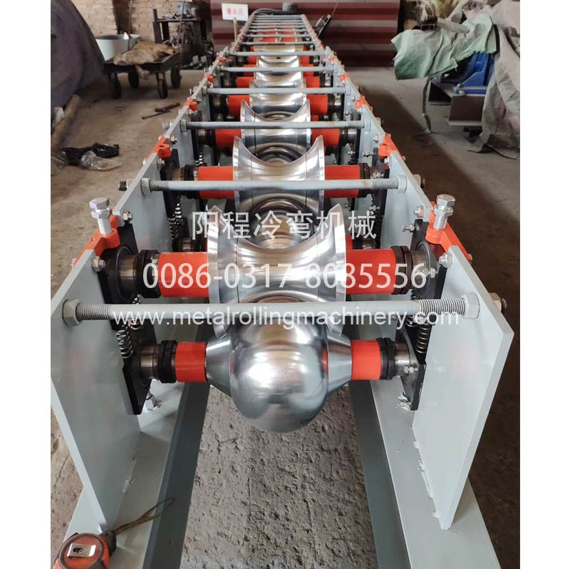 230-90 Ridge Cap Roll Forming Machine