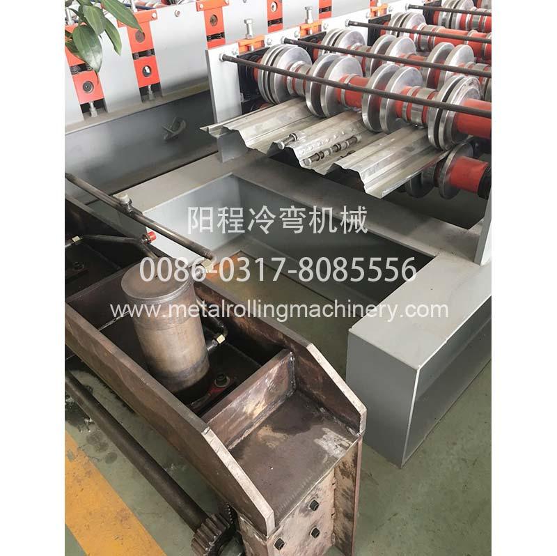 YC 914-75 Steel Floor Deck Roll Forming Machine