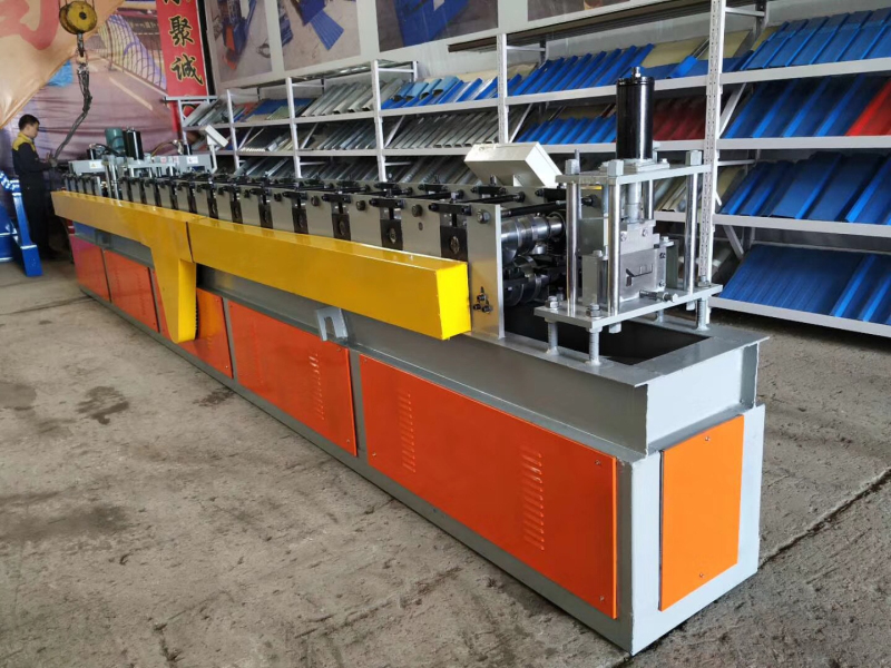 Special designed steel door frame cold roll forming equipment